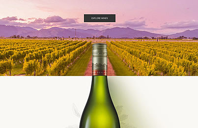 Villa Maria Wine 官网设计
