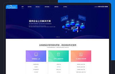 深蓝果实官网1.0 开发设计